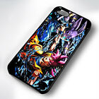 EPIC DRAGON BALL Z RUBBER PHONE CASE COVER FITS IPHONE 4 5 6 7 (#BR)