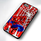 WEB SPIDERMAN RUBBER PHONE CASE COVER FITS IPHONE 4 5 6 7 (#BR)