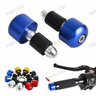 "7/8"" Handlebar Caps Bar Ends For BMW S1000RR/XR/R R1200 RS/R,HP4 F800R C600/650"