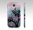 Phone Case Cell cover for Iphone Samsung Galaxy Design 32 tree pink aqua L.Dumas