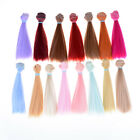 15cm length high-temperature material natrual color thick bjd wigs doll hair GD