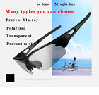 ROCKBROS Polarized Photochromic Cycling Glasses Goggles 3 in 1 lens Sunglasses