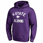 Fanatics Branded Kansas State Wildcats Purple Team Alumni Pullover Hoodie