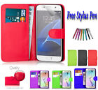 PU Leather Side Book Flip Wallet Case Cover ID Holder For Samsung Galaxy J3 2017
