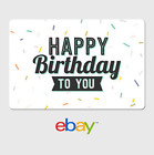 eBay Digital Gift Card - Happy Birthday to you -  Fast email delivery