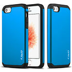 J&D Apple iPhone SE [ArmorBox] Hybrid Shock Proof Protective Rugged Case