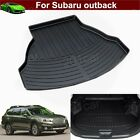 1x Leather Car Mat Trunk Cargo Liner Cargo Mat Tray For Subaru outback 2015-2019