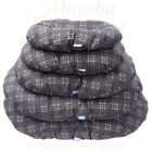 Padded Oval Cushion Ideal Plastic Dog Bed Warm & Comfort Reversible & washable