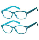3 Pairs Fashion Readers Reading Glasses for Men and Women (Black and Tortoise)