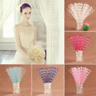 100 Stems Pearl Beads Spray Wedding Bride Favor Flower Bouquet Home Decor Exotic
