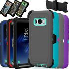 Shockproof Hybrid Rugged Belt Clip for Samsung Galaxy S8 / S8 Plus Case Cover