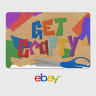 Kyпить eBay Digital Gift Card - Arts and Crafts - Get Crafty - Email Delivery  на еВаy.соm
