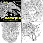 Mythomorphia An Extreme Coloring & Search Challenge Paperback Coloring Books New