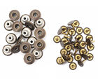 14mm Jeans Stud Buttons Bronze Replacement Metal Jacket with W/O Hand Tool JB47