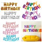"16"" Self Inflating Happy Birthday Letter Foil Alphabet Giant Balloon Party Decor"
