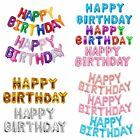 Внешний вид - Letter Balloons Set Happy Birthday Banner Foil BALLON Kids Party Birthday Decor