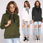 Fashion New Women's Girl Long-sleeve Hoodie Tops Sweatshirt Pullover