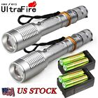 Tactical Police 20000Lumen T6 LED 5Modes 18650 Flashlight Aluminum Torch US