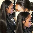 Brazilian Silky Straight  Remy Human Hair Lace Front/Full Lace Wigs Baby Hair