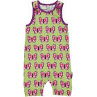 BNWT New Baby Girls Boys Maxomorra Butterfly Short Jersey Dungarees Playsuit