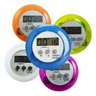 Mini LCD Timer Digital Magnetic Kitchen Racing Countdown Alarm Clock Stop Watch