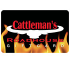 Cattlemans Roadhouse Gift Card - $25 $50 or $100 - Email delivery