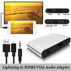 Digital AV Adapter USB Type-C to HDMI TV VGA Video Converter For iPhone Samsung