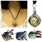 925 Silver Guardian Angel Bell Necklace - Cord & Pendant
