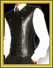 Top Quality Attractive 100% Real Leather Black Men Full Waist Corset 2XS-7XL