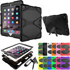 Shockproof Rubber Hard Stand Tablet Case Cover For Apple iPad 9.7 2017 5th Gen