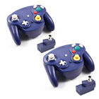 2.4G Wireless Game Controller Adapter for Classic GameCube NGC Black Blue White