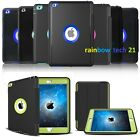 For iPad 2 3 4/Mini /Air 2 /Pro 9.7 Shockproof Stand Flip Smart Case Cover Lot