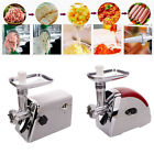Electric Meat Grinder Sausage Stuffer Maker Stainless Cutter Home New