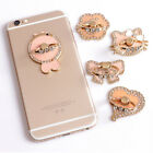 Bling Universal Mobile Phone 360° Ring Stent Adhesive Cell Phone Kickstand