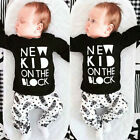 Baby Boys New Kid On The Block Top Bottoms 2 piece Outfit Set Casual.Party.Gift