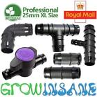 Antelco 25mm XL Large Pipe Fitting Barbed Garden Watering Irrigation Connector