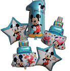 5PCS MICKEY MOUSE 1ST BIRTHDAY NUMBER 1 BALLOON PACK KIDS PA