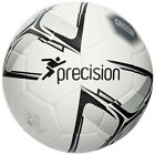 Precision Rotario Match Football - White/Black/Silver