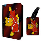 Retro Vintage Superted Bananaman Luggage Tag & Passport Holder - T995