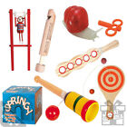 Traditional Games. Vintage Memories And Old Fashioned Pastimes - Family Fun Kids