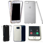 360° Silicone gel full body Case Cover for many mobiles -design ref zq413 clear