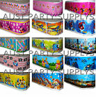KIDS BIRTHDAY TABLECLOTH TABLE COVER THEMED PARTY SUPPLIES TABLEWARE SERVEWARE $4.75 USD