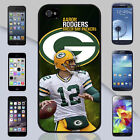 Green Bay Packers Aaron Rodgers Apple iPhone & Samsung Galaxy Case Cover