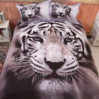 Tiger Quilt/Doona Cover Set Double/Queen/King Size Duvet Covers Bed Pillowcases