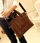Men's Handbag Satchel Briefcase Messenger Shoulder Laptop Bag Business Case