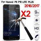 2X Premium Tempered Glass Screen Protector Film For Huawei Ascend P10 Lite Plus