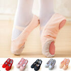 Внешний вид - Girl Child Adult Soft Canvas Ballet Dance Shoes Slippers Pointe Dance Gymnastics