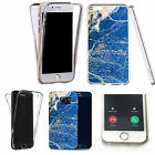 360° Silicone gel full body Case Cover for many mobiles - marble design q25
