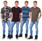 New Mens Printed T Shirt Malay Apparel Viscose Cotton Casual Wear Top M to 2XL