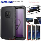 Samsung Galaxy S8 / S8+ Plus Shockproof Metal Rubber Hard Heavy Duty Case Cover